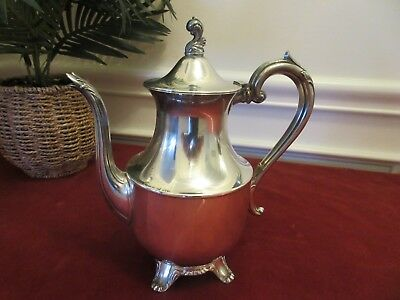 VINTAGE SILVER PLATED TEA OR COFFEE POT -- Wm A ROGER BY ONEIDA LTD SILVERSMITHS