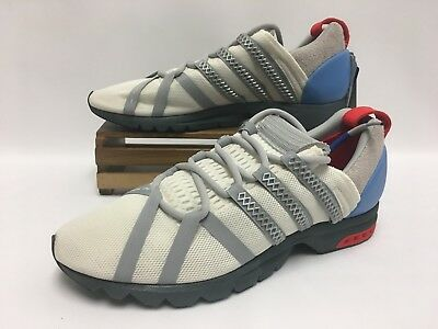 promo code 9e013 db83c Adidas Consortium Adistar Comp White Chalk Red BY9836 Mens Size 12 NEW