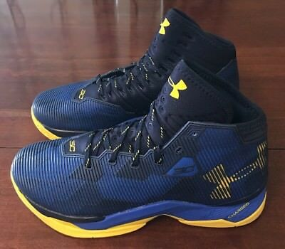 ad6fc2f9959 Under Armour Stephen Curry 2.5 Basketball Shoes Size 11.5 Taxi Blue 1274425 -400