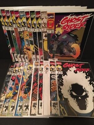 GHOST RIDER Lot #1 - 28/ 21 Comics VF and higher 1990 Marvel 2nd Series