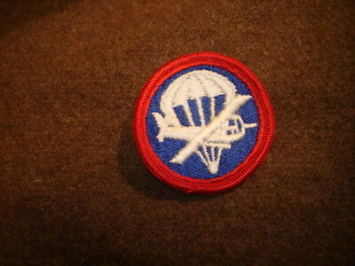 WWII US Army Airborne Officer Para-Glider Patch for Garrison Cap ( Glider Flies