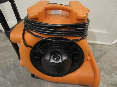* RIDGID AM2560 1625 CFM, 3 speed Heavy Duty Air Mover / Blower / Fan, Used