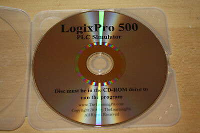 LogixPro 500 - RS Logix 500 Simulation Training CD and Solutions NEW