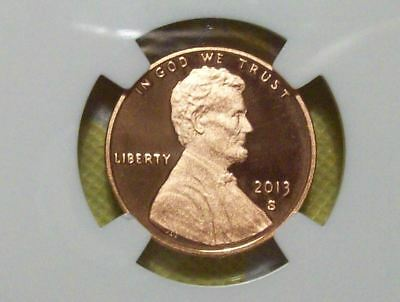 2013-S Lincoln Shield Cent-NGC PF 69 RD Ultra Cameo
