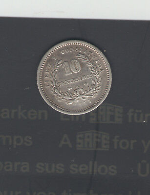 Coins Uruguay 1877-A 10-Cent