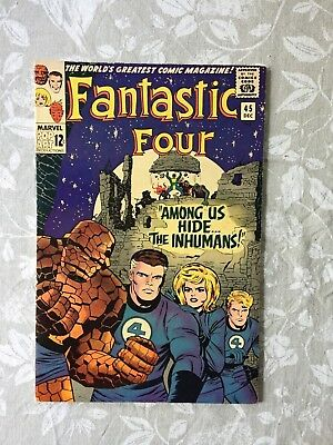 Marvel Comics Fantastic Four # 45 1965 (VF-)