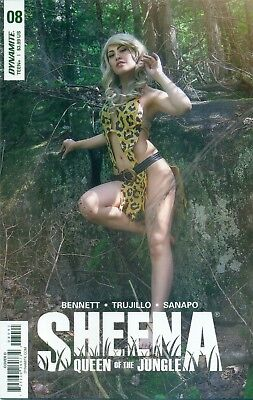Sheena Queen Of The Jungle #8 Ashley Du Photo Cover Cosplay Variant D NM/M 2018