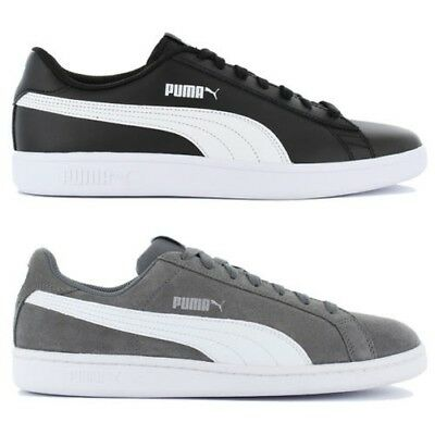 Puma Baskets Chaussures Smash Homme Loisirs Leather Espadrille Cuir GMzSUqVp