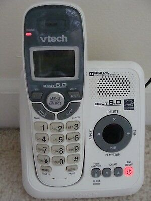 Vtech cs6829 60 caller id and digital answering system 1 cordless vtech cs6124 dect 60 cordless phone digital answering system white one handset fandeluxe Images