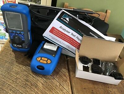 Brand New Kane 458 Infra-Red Flue Gas Analyser Kit With Accessories