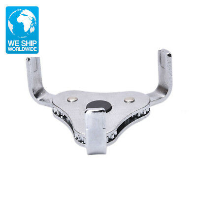 Two Way Oil Filter Wrench Tool with 3 Jaw Remover Tool for Cars Trucks 62-102mm