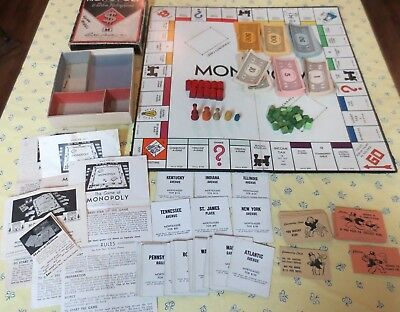 Image result for 1937 monopoly