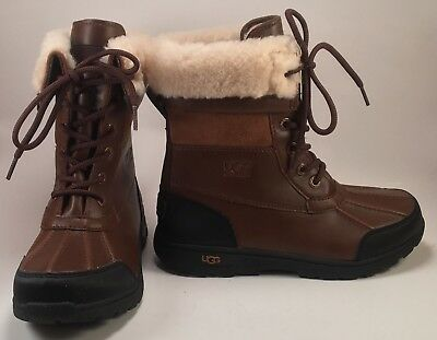 411cafb9ae1 UGG 1005582K BUTTE II WORCESTER WATERPROOF WINTER SNOW BOOTS SIZE 3 Youth  (O)