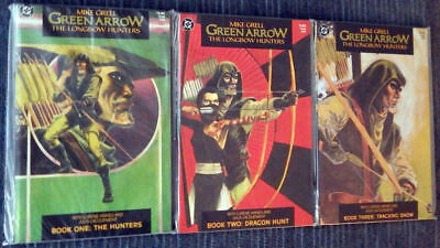 Green Arrow: The Longbow Hunters - Mike Grell - All 3 issues - High Grade!