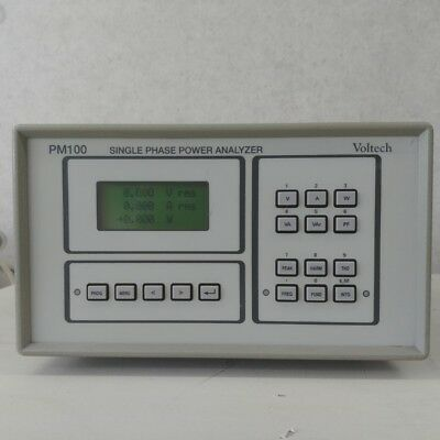 Used Voltech PM100 -   Single-Phase Power Analyzer