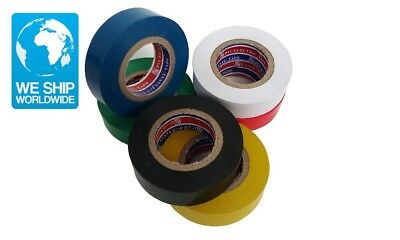Mainpoint High Quality 1PC Insulation Tape Vinyl Electrical Tape 19mm Wide 20