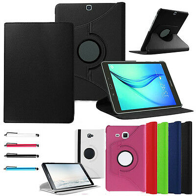 """For Samsung Galaxy Tab E 7"""" 8"""" 9.6"""" SM-T560 Rotating Smart PU Leather Case Cover"""