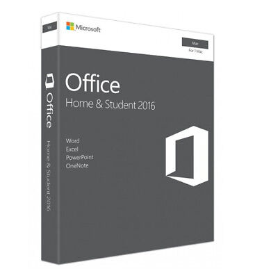 GZA-00984  MICROSOFT OFFICE HOME & STUDENT 2016 for MAC