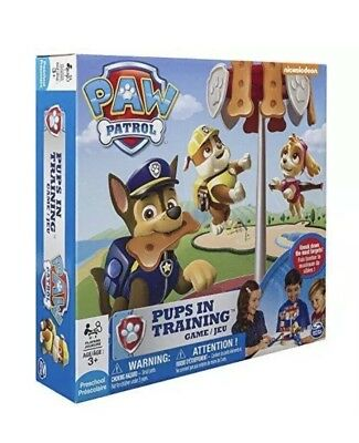 NEU Paw Patrol Pups in Training Brettspiel