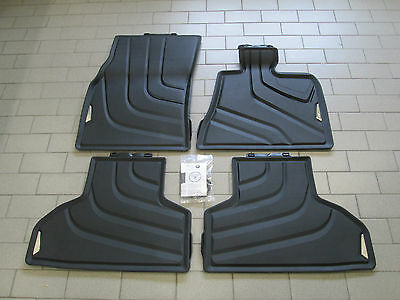 Genuine BMW F15 X5 Tailored Rubber Floor Mats