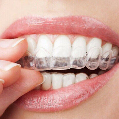 4 pcs Teeth Whitening Mouth Trays Guard Thermo Gum Shield Tooth Grinding #ht