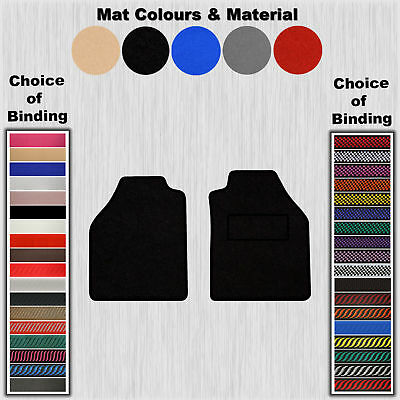 Tailored Velour Floor Mats For Ford Transit Connect 2002>2014 (No-Clips)
