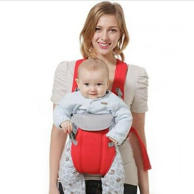 Newborn Baby Kids Carrier Sling Wrap Backpack Front Back Chest