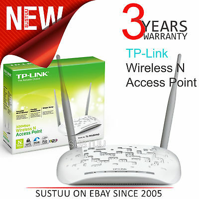 TP-Link TL-WA801ND 300Mbps Wireless N Access Point Booster│WIFI Range Extender