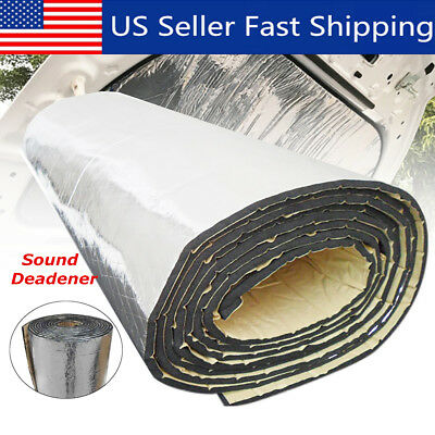 21Sqft 10mm Sound Deadener Car Heat Shield Insulation Deadening Material Mat