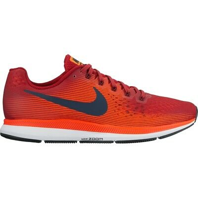 58626df32ca06 ... real nike air zoom pegasus 34 mens running shoes gym red armory navy  880555 size 8.5