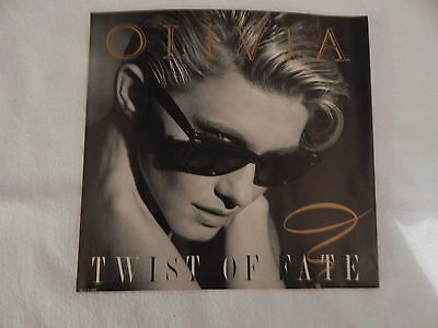 Olivia Newton-John - Twist Of Fate PICTURE SLEEVE! BRAND NEW! MINT!!