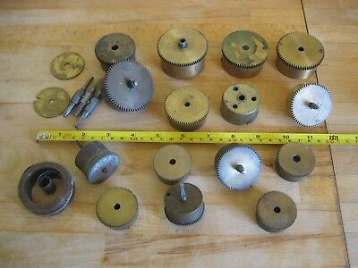Collection Vintage Clock Barrels Main Springs & Accessories - Job Lot Spares