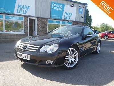 2007 Mercedes-Benz SL350 3.5 7G-Tronic ONLY 31,000 MILES BLACK / BLACK LEATHER