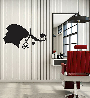 Vinyl Decal Wall Sticker Beauty Hair Salon Barbershop Scissors Decor Gift (g059)