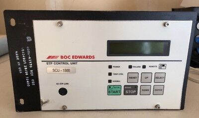 BOC EDWARDS SCU-1500 Turbo molecular Pump Control Unit