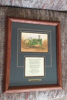 American Memory Prints Thank You, Lord, For Our Dear Farmer Matted Framed Print