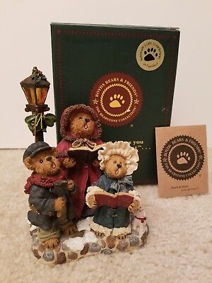 Boyds Bears, Victoria Anne with Stuart & Abigail...sounds of the season, #228412
