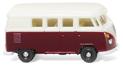 Wiking 093202 VW T1 Bus - weinrot/weiß 1:160 (N), NH 06/2018