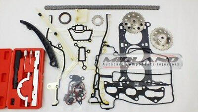 Head Gasket Set+Bolts+Timing Chain+Tool Kit For Agila Corsa C D 1.0 12V Z10Xep