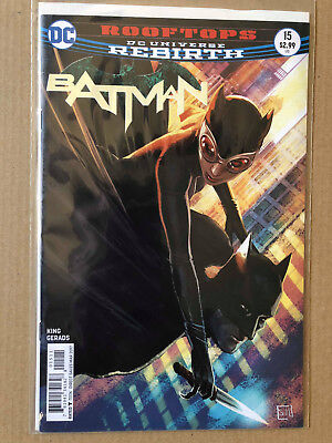 Batman #15 - Dc Comics Rebirth - 1St Print - Brand New B&b