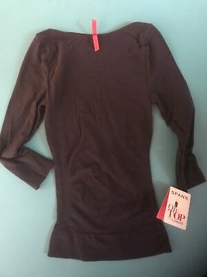 new with tag spanx on top and in control boat neck 3 4 sleeve