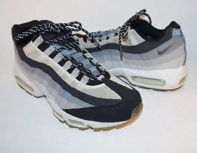 7f3a9c6c9b NIKE AIR MAX 95 Cool Gray/Black Mens Shoes Sneakers 609048-036 Size ...