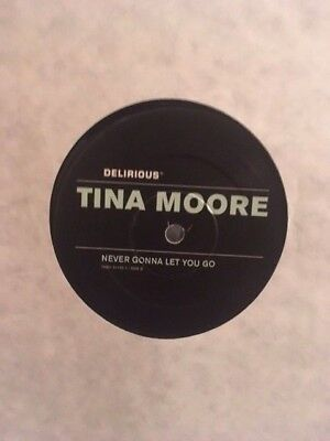 "Tina Moore ‎– Never Gonna Let You Go 12"" UK Garage Vinyl Tuff Jam Kelly G 1997"