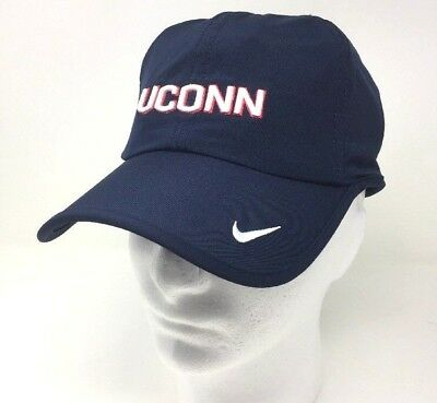 Nike UConn Huskies Connecticut Featherlight Dri-Fit Tennis Running Cap Blue  N3A low priced 49f2c ... db2084b8a80