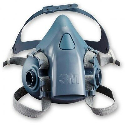 3M 7500 Series Reusable Half Face Masks Respirator Dust Mask - MEDIUM