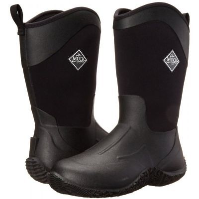 Muck Boots Women's TACK II MID BLACK/BLACK Sizes 6,7,8,9,10's