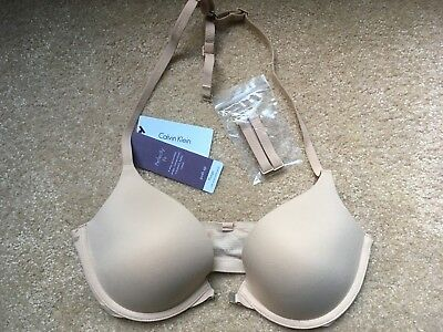 4329469766 CALVIN KLEIN WOMEN S Perfectly Fit Push Up Multiway Bra QF1121-001 ...