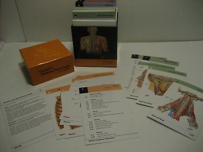 Barrons Anatomy Flash Cards 2nd Edition 1295 Picclick
