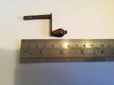 Vienna Wall Clock Winding Key, Small Size, Gustav Becker Key