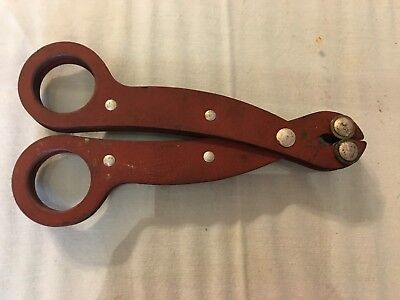 Vintage Sun Electric Corp. 2-1028 Fuse Puller Pliers 7in. Long USA
